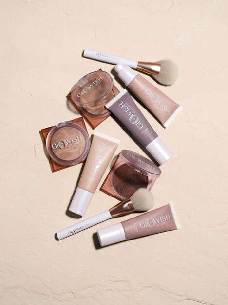 Glowy Skin-Caring Cosmetics