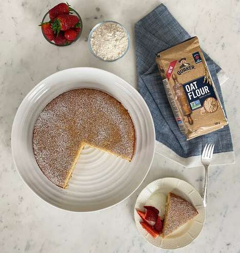 Chef-Created Oat Flour Recipes