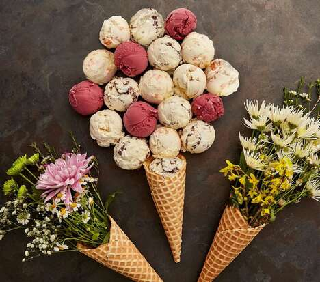 Floral Ice Cream Collections