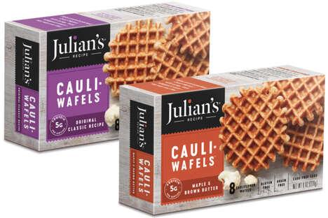 Grain-Free Cauliflower Waffles