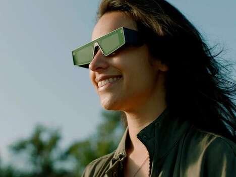 Immersive Social AR Eyewear