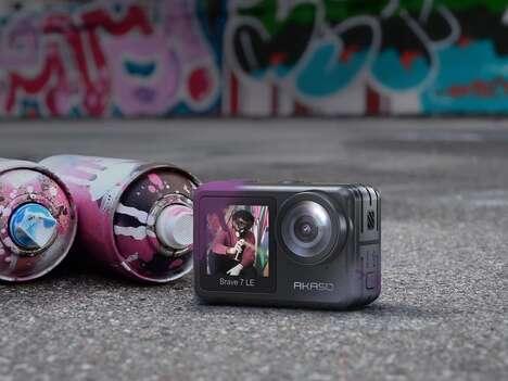 Dual-Screen Action Cameras