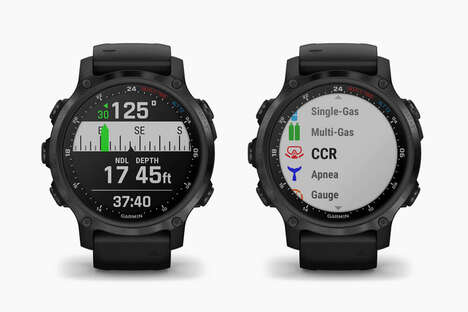 Compact Diver Smartwatches