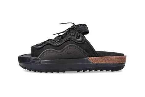 Cork Midsole Summer Sandals