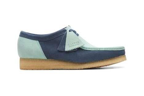 90s-Inspired Paneling Footwear