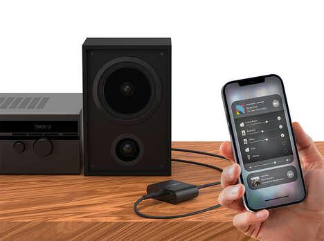 Connectivity Enabling Speaker Accessories