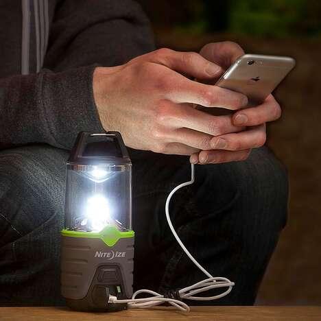 Customizable Illumination Outdoor Lanterns