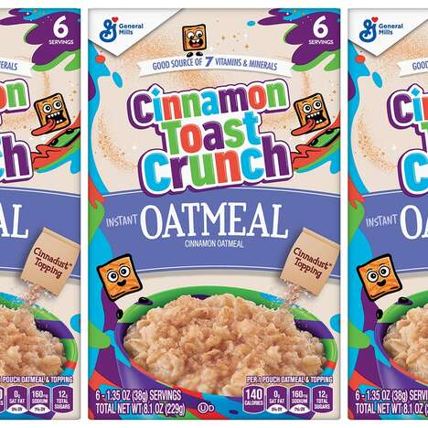 Cereal-Flavored Instant Oatmeals