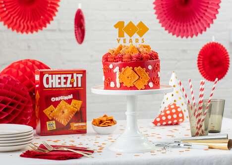 Cheesy Cracker Brand Cakes