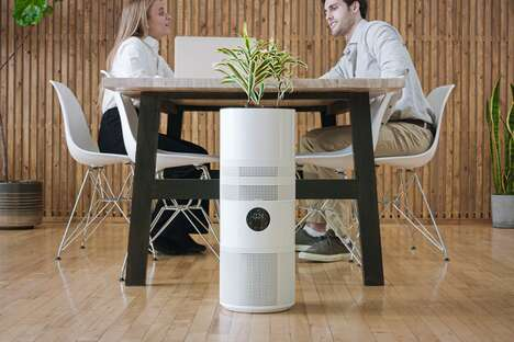 Plant-Integrated Air Purifiers