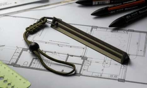 Stylish Multipurpose EDC Ruler