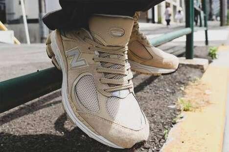 Neutral Tonal Cozy Footwear