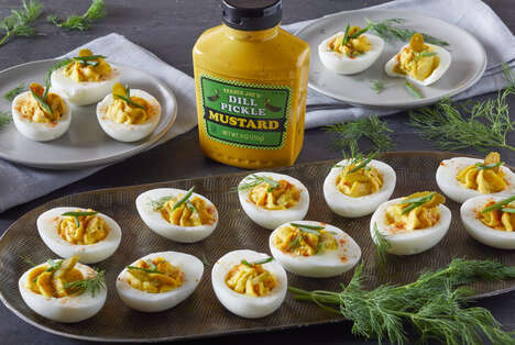 Dill Pickle Mustards
