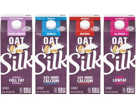 Revamped Oat Milk Lineups