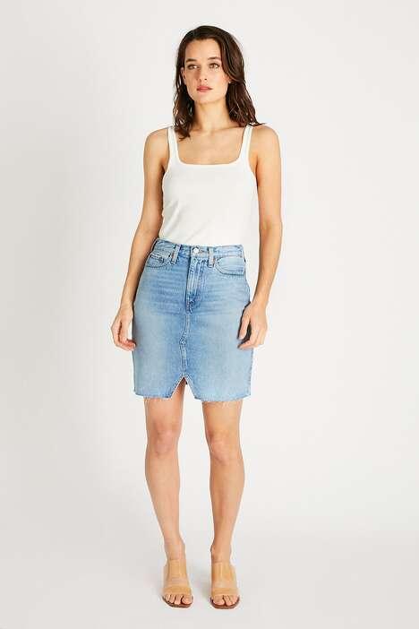 Ethically Made Denim Skirts