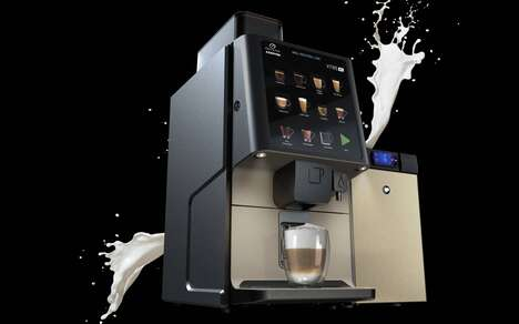 Fresh Milk Coffee Machines