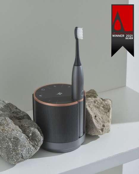 Toothbrush Speaker Systems