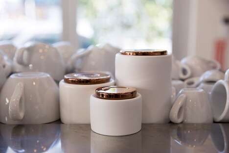 Ultra-Stylish Coffee-Serving Collections