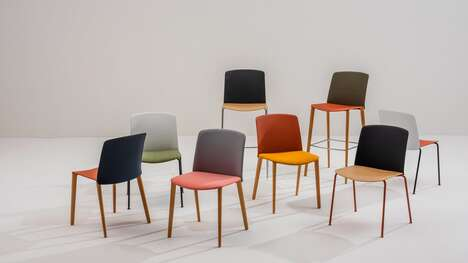 Minimalist Colorful Seating Collections