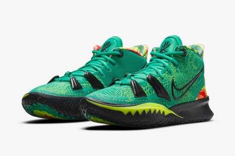 Ultra-Vibrant Basketball Shoes