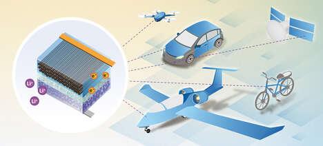 Lightweight Structural Batteries