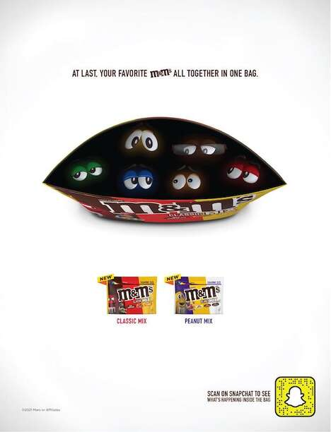 Augmented Reality Candy Ads