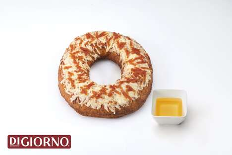 Pizza-Themed Donuts