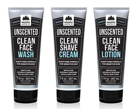 Unscented Sensitive Skin Cosmetics