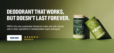 All-Natural Sustainable Deodorants