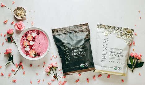 Organic Plant-Based Protein Powders