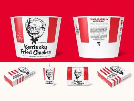 Heritage-Honoring Fried Chicken Packaging