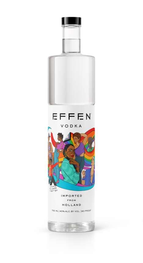 Artful Pride-Themed Vodkas