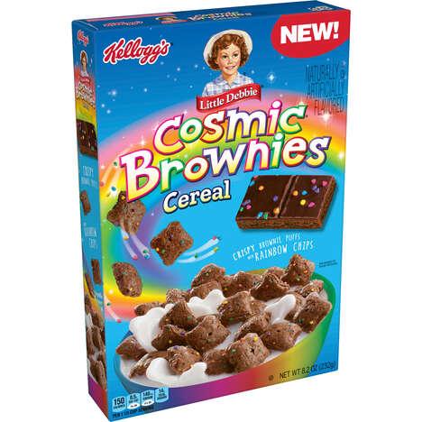 Rainbow Brownie Cereals