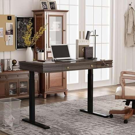 Tech-Equipped Standing Desks