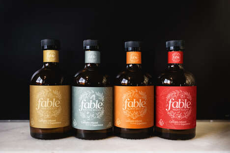 Cannabis-Infused Botanical Beverages