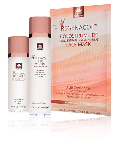 Colostrum-Based Anti-Aging Skincare