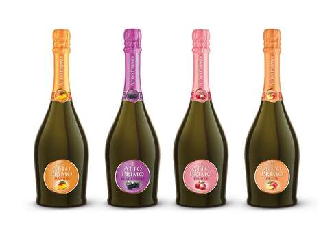 Fruity Low-Alcohol Sparkling Wines