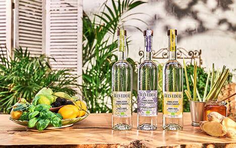 Botanically Enhanced Vodka Ranges