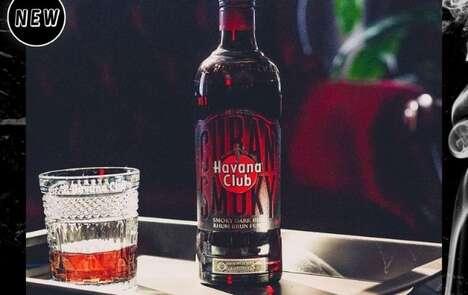 Smoky Barrel-Aged Rums