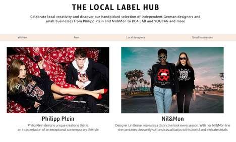 Digital Local Fashion Stores
