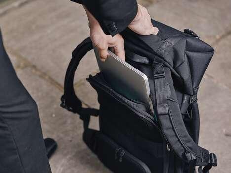 Sleek Expandable Backpacks