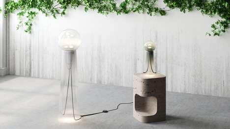 Modern Atmospheric Lamps