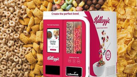 Cereal-Mixing Vending Machines