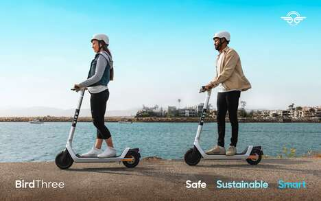 Eco-Friendly Shared E-Scooters