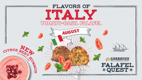 Globally Inspired Falafel Campaigns