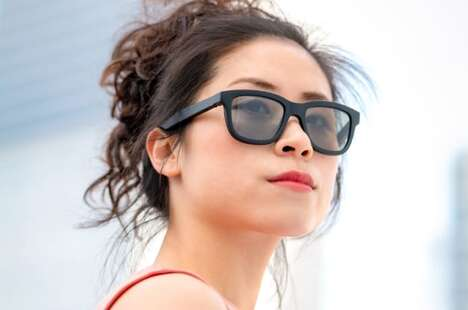 Connected Tint-Changing Sunglasses