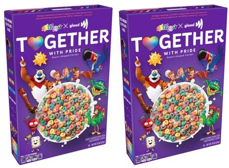 Pride-Themed Breakfast Cereals