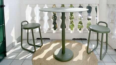 Light Steel Outdoor Furniture