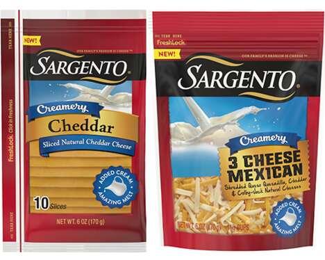 Extra-Creamy Cheese Ranges