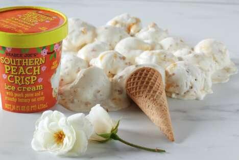 Peach Crisp Ice Creams